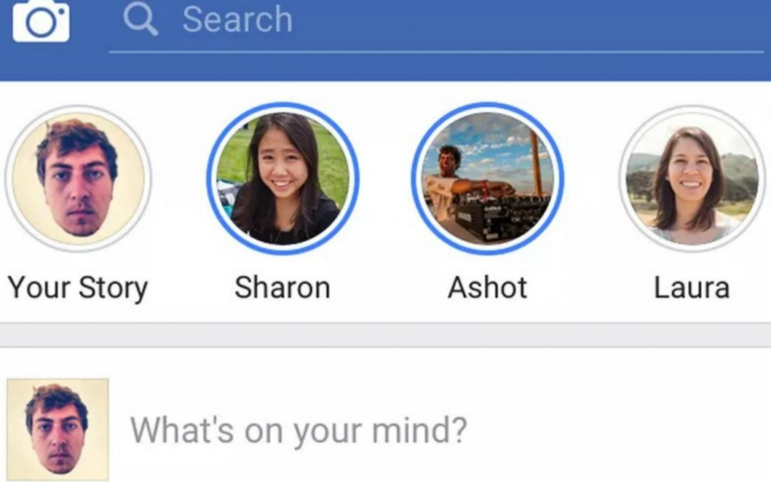 Facebook copia Snapchat e Instagram com função Stories